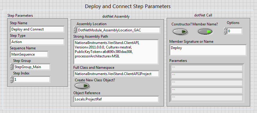using the teststand api in labview to create net steps for the ni veristand api national ni teststand reference manual National Instruments Test Stand