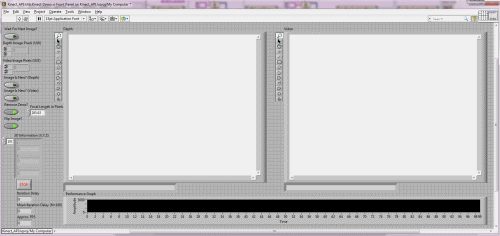 Kinect LabVIEW Interface Using Microsoft Kinect API