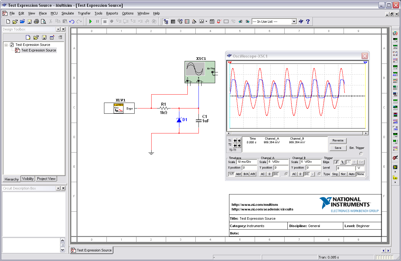 Spice Circuit Simulation Electronic Design Program Free