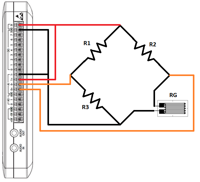 strain gauge circuit diagram  zen diagram, circuit diagram