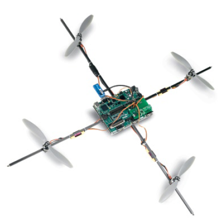 Two NI engineers built a quadrotor helicopter around an NI Single ...: www.ni.com/newsletter/51012/en
