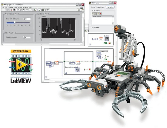 Program LEGO® Robots with LabVIEW - National Instruments