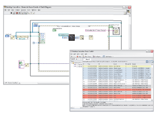 Software engineering tools for large labview applications national developers can click on an event to quickly locate the source on the block diagram ccuart Choice Image