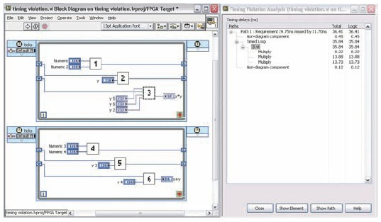 how to create a timer in labview