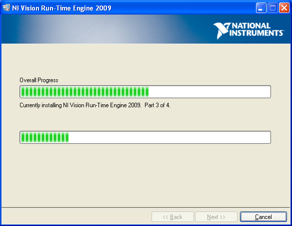 NI Vision V8.6.4 Run Time Engine 允許未裝labVIEW系統的電腦運行LabVIEW ...