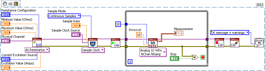Transition from Traditional NI-DAQ (Legacy) to NI-DAQmx in LabVIEW