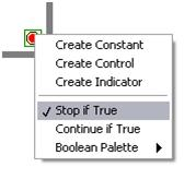 how to stop a while loop in a gui