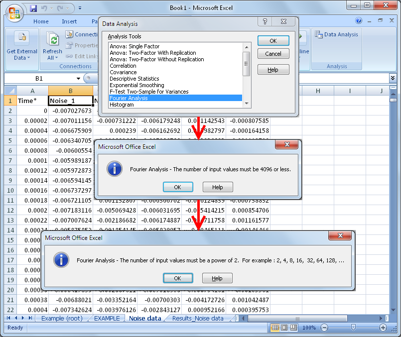 Moving Beyond Microsoft Excel for Measurement Data Analysis and – Data Analysis Excel