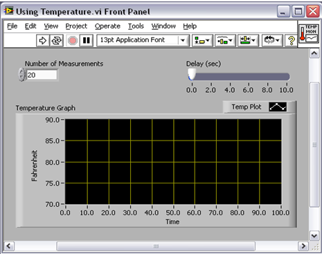 Tutorial Front Panel National Instruments