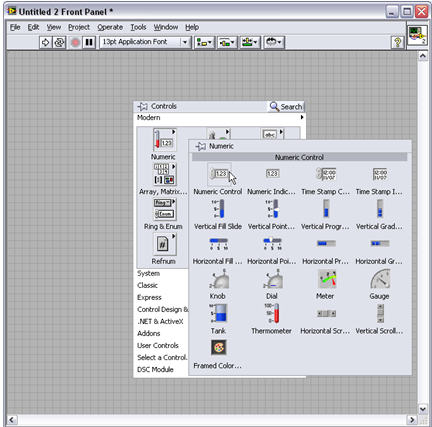 LabVIEW Front Panel Explained - National Instruments