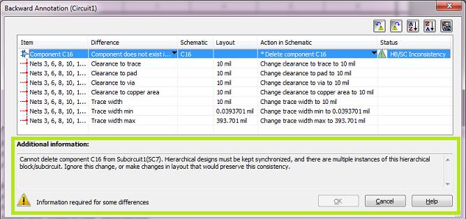 multisim 11.0.1中前向与后向标注的改进