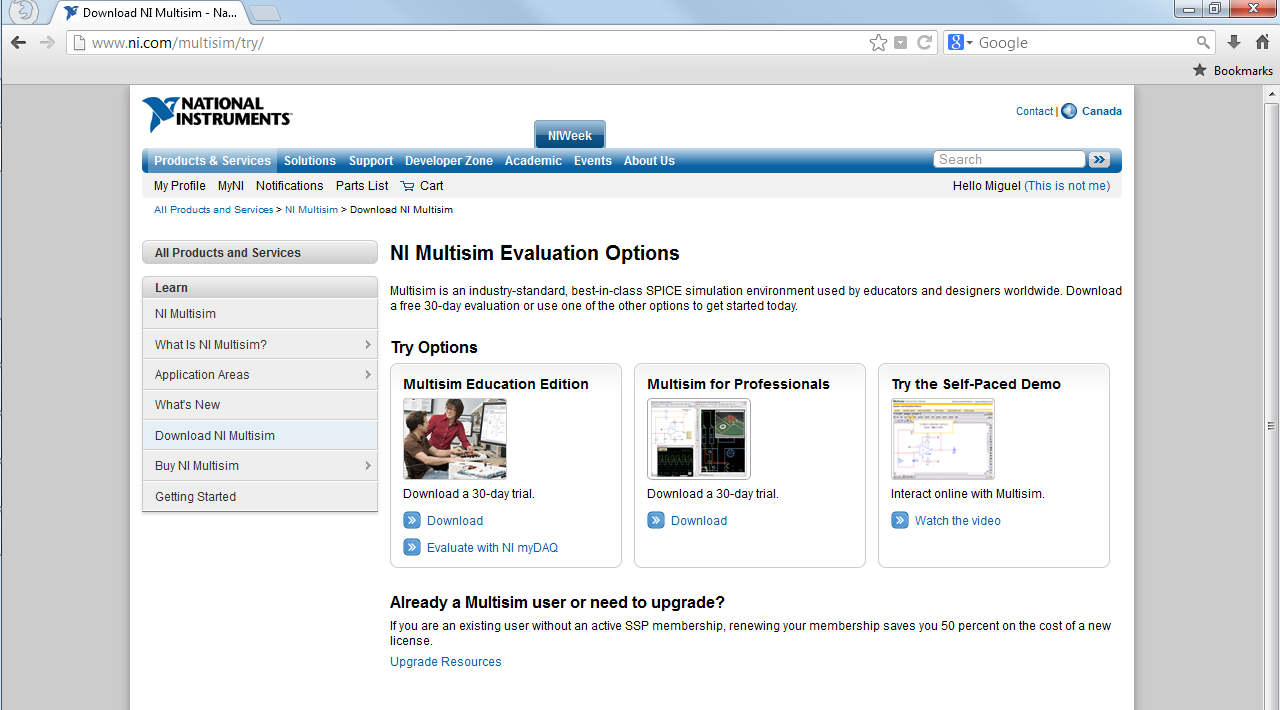 Multisim Free Trial For Mac