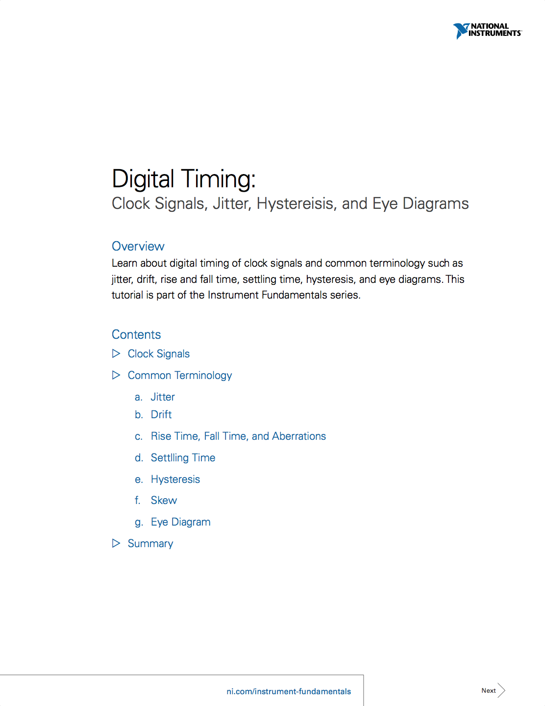 Digital Timing Clock Signals Jitter Hystereisis And Eye Diagrams Diagram