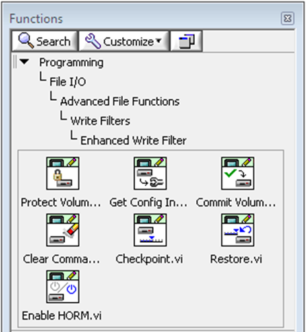Labview context help