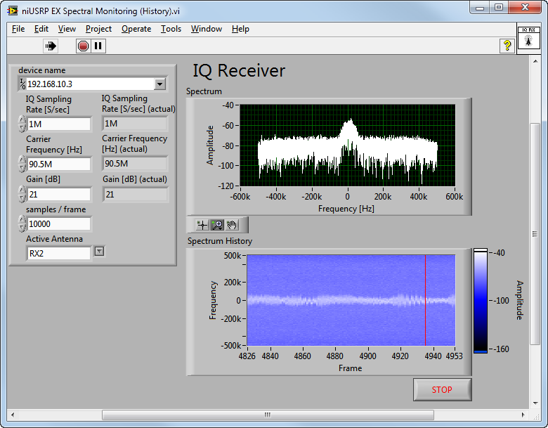 Spectrum Monitoring With NI USRP - National Instruments