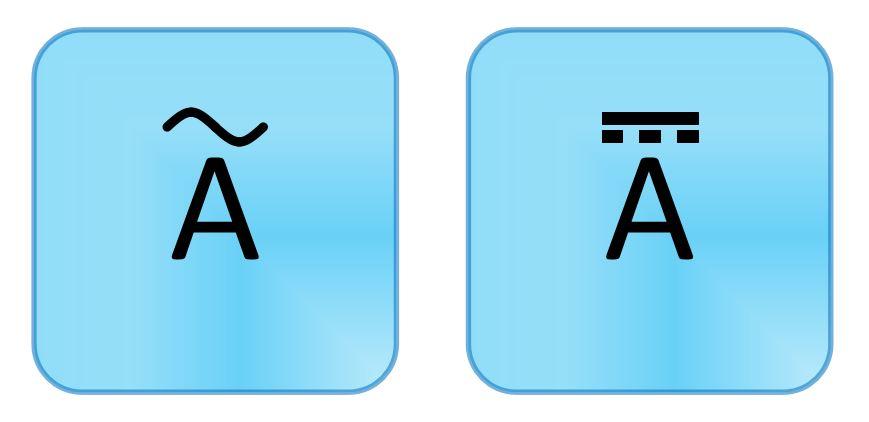 Alternating Current Symbol Multimeter