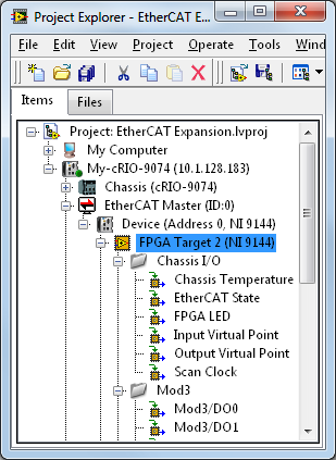 Setting Up EtherCAT on NI Programmable Automation Controllers