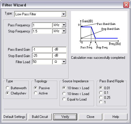 How To Use The Filter Wizard In Ni Multisim National Instruments