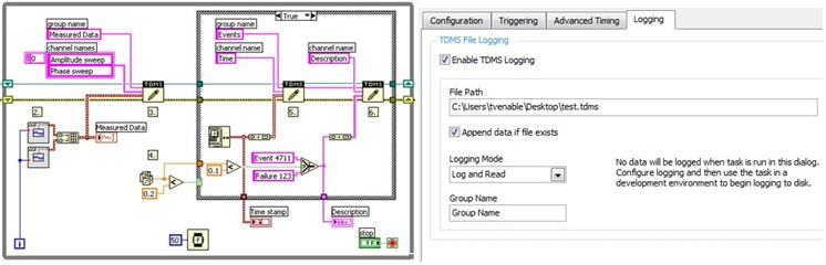 Simple Data Acquisition System : Labview example writing data to excel jill scott insomnia