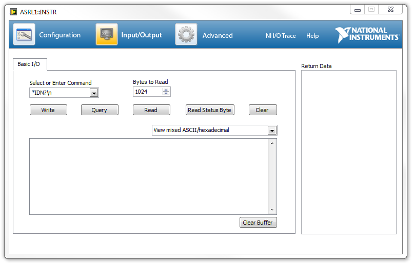 How to Do a Serial Loopback Test - National Instruments