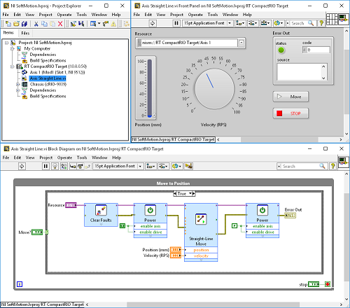 motion control with compactrio the ultimate multipurpose controllerwith the labview softmotion module you can develop your motion control application using virtual axes and seamlessly integrate with other processes