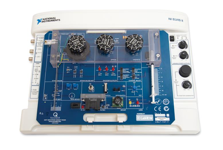 Mechatronic Sensors Trainer For Ni Elvis National