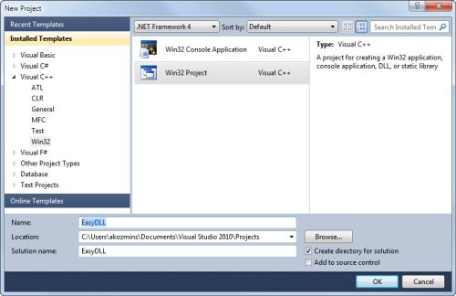 Building a DLL with Visual C++ - National Instruments