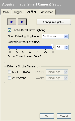 Lighting Properties in Vision Builder AI