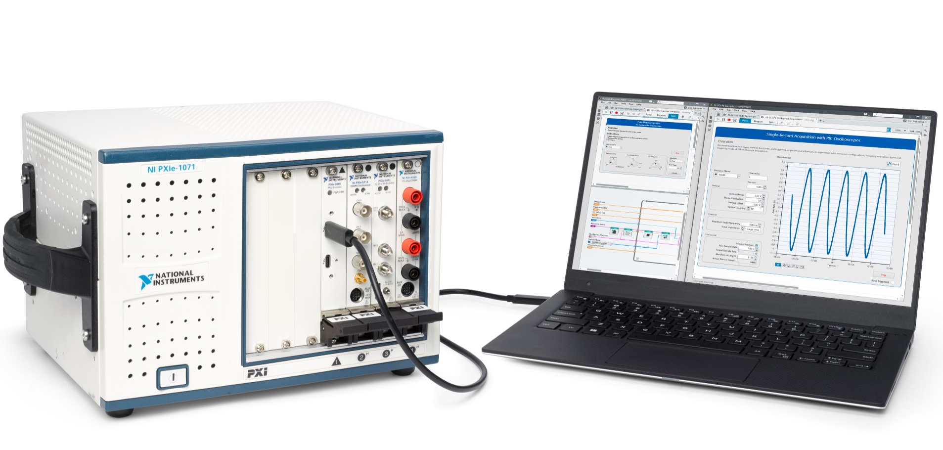 Thunderbolt™ 3 Remote Control of PXI Test Systems - National