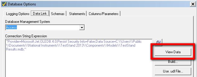 Get Started Logging to Databases Quickly with NI TestStand