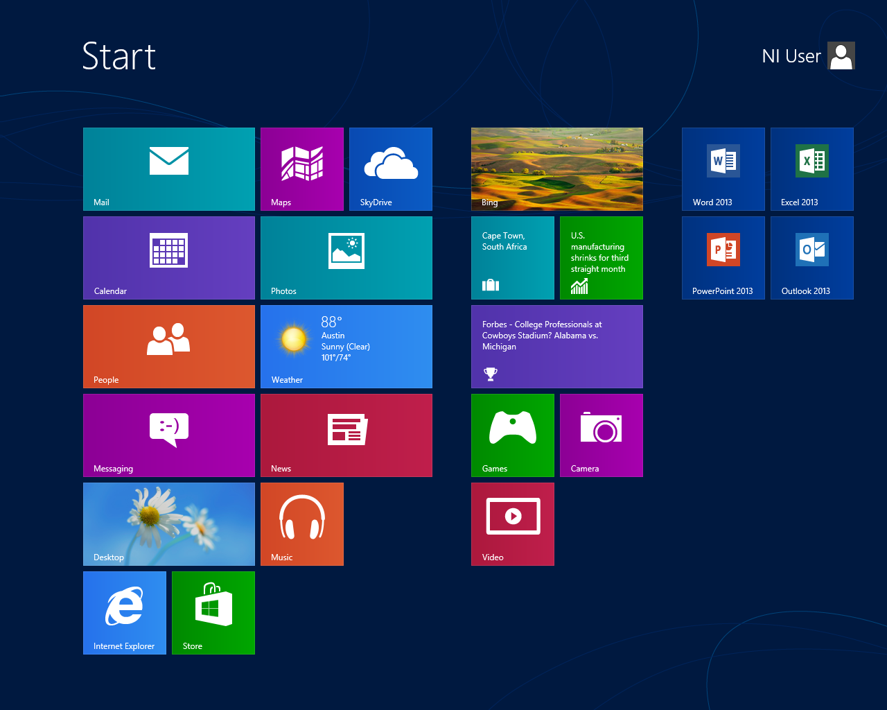 Overview of windows 8 national instruments for Screen new window