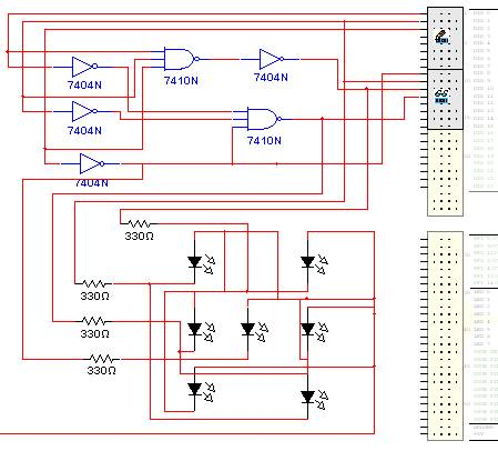 multisim circuit for