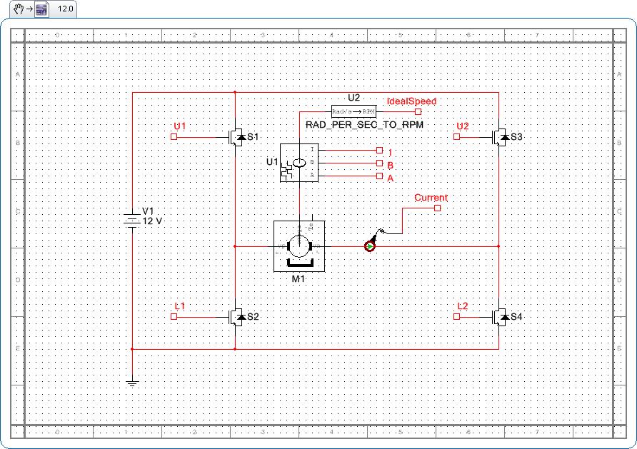 Archived: How to Design and Simulate a Brushed DC Motor H-Bridge ...