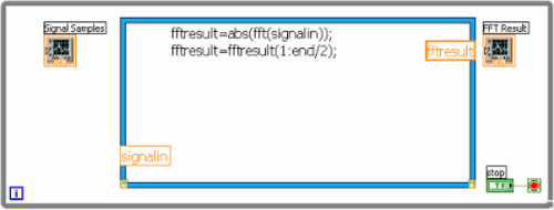 Working with  m File Scripts in NI LabVIEW for Text Based Signal
