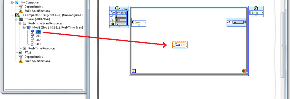 Take Your First Measurement in LabVIEW Real-Time (Data