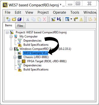 Remote Application Development for Windows-based CompactRIO