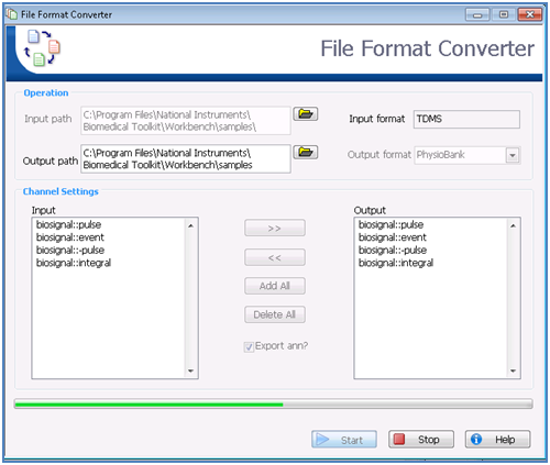 Archived: LabVIEW for Biomedical Signal Analysis - National