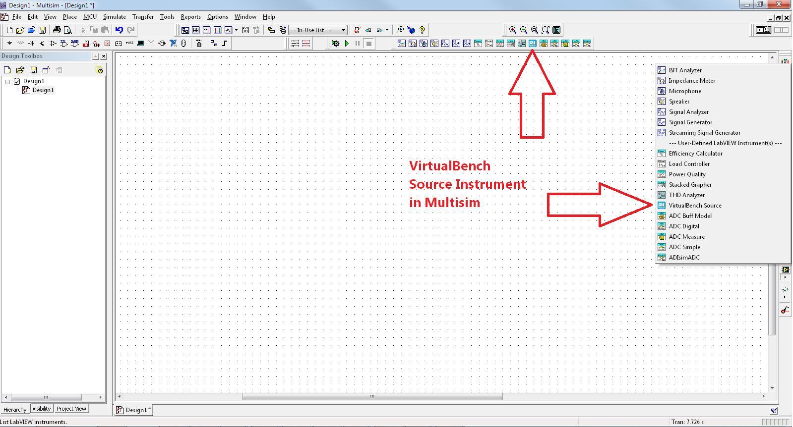 Importieren von Messdaten aus der NI VirtualBench in eine ...