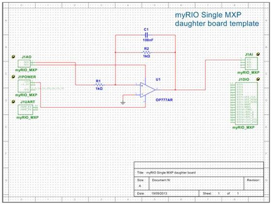 synchronize schematic and layout for student design with templates, Schematic