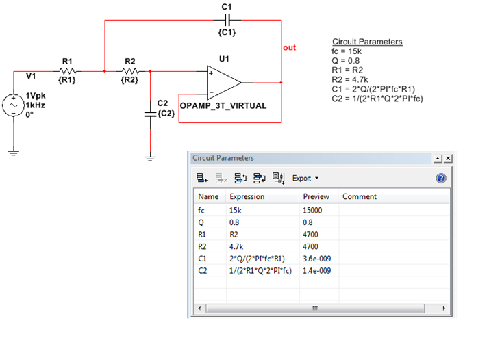 Advanced Circuit Analysis and Exploration with Circuit Parameters in ...