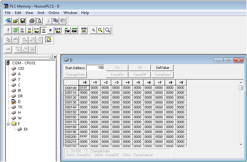 Setting up Implicit Ethernet/IP messaging between an Omron PLC and