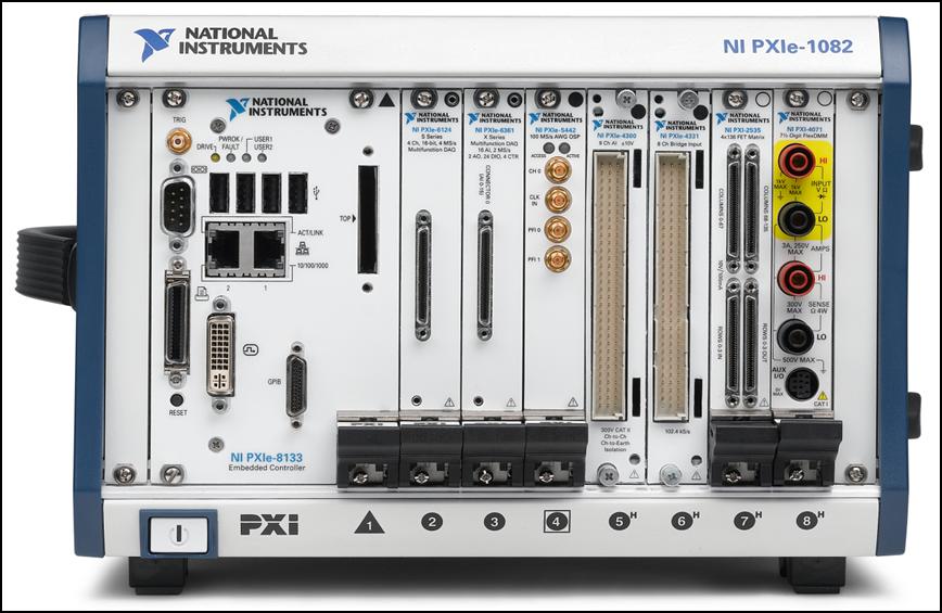 Extensive Product Portfolio National Instruments