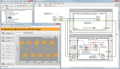 Using LabVIEW with NI CompactDAQ (cDAQ)