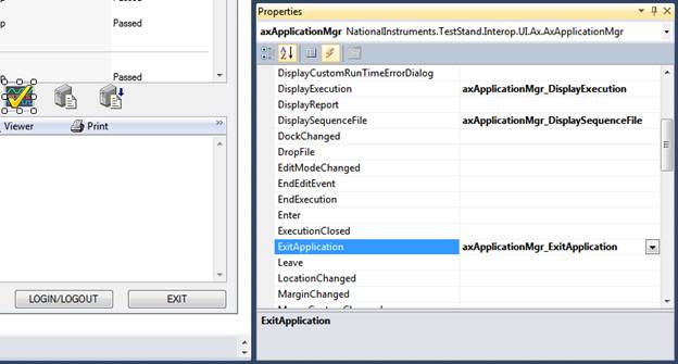 Working with the TestStand Simple User Interface - C# NET
