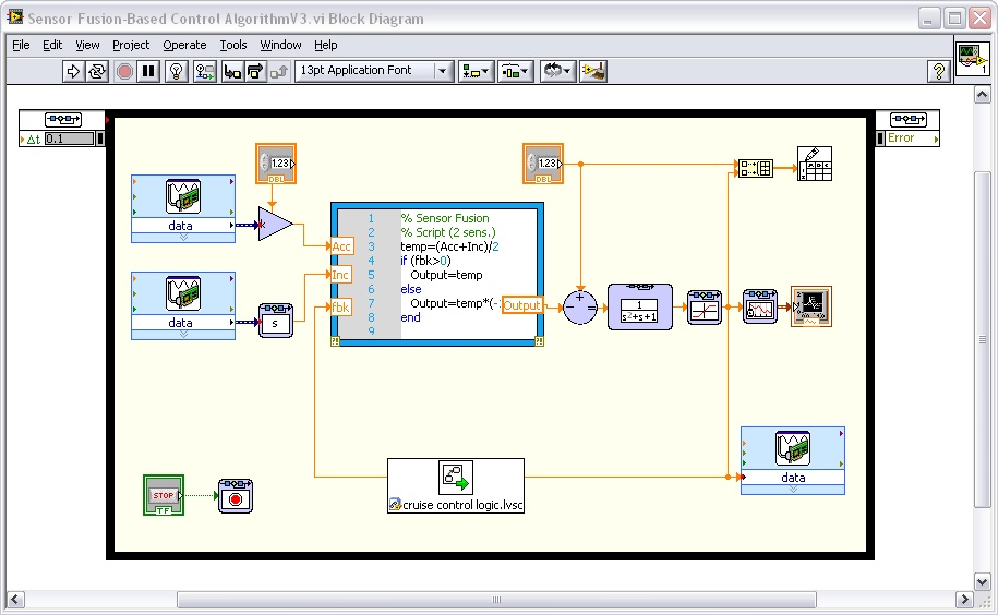 What is the LabVIEW Control Design and Simulation Module