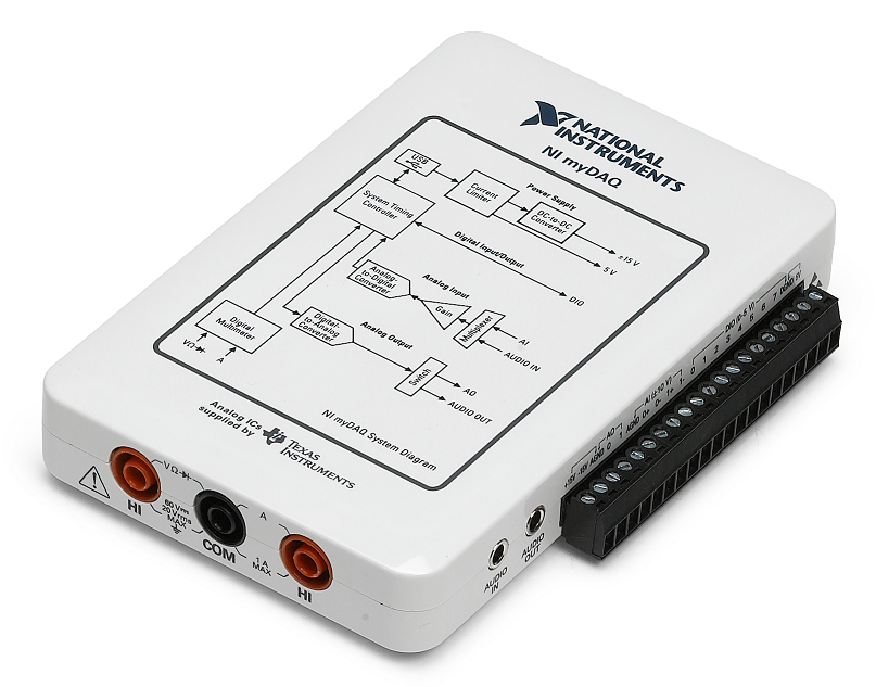 Portable Student Devices Analog Discovery 2 And Mydaq