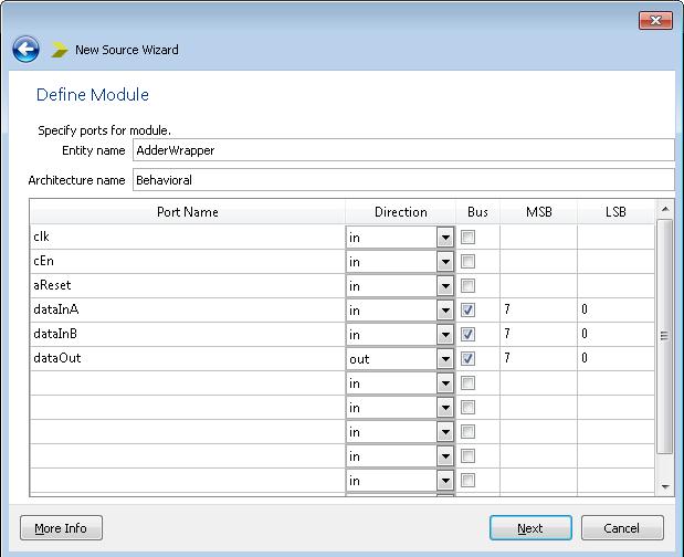 Using Xilinx ISE Design Suite to Prepare Verilog Modules for