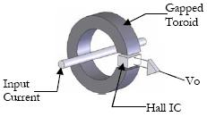 A current transformer allows you to measure large currents safely