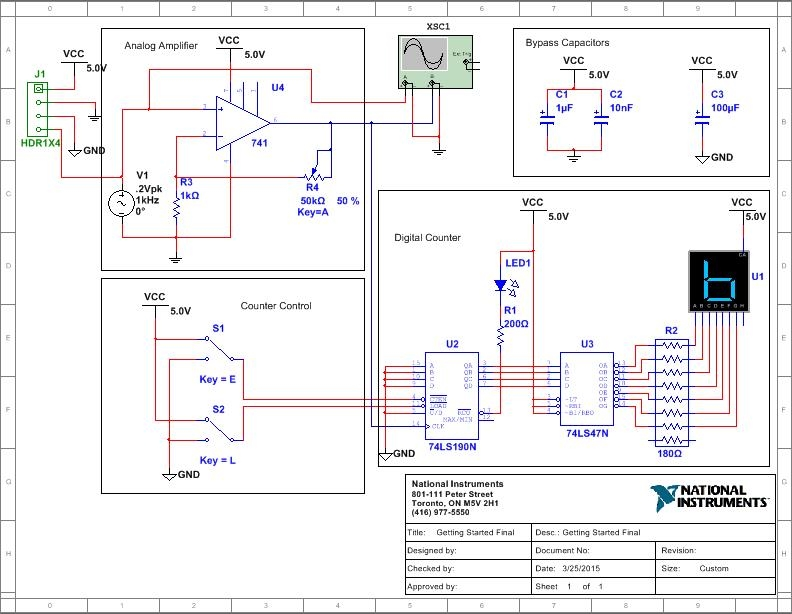 using ni multisim and ultiboard student version for capstone projectYour Own Multisim Like Circuit Design And Simulation Application #19