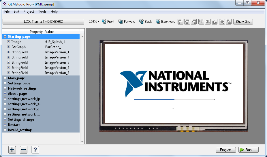 Open PMU LabVIEW Project - National Instruments